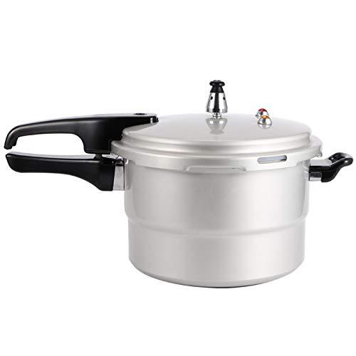 【𝐎𝐬𝐭𝐞𝐫𝐟ö𝐫𝐝𝐞𝐫𝐮𝐧𝐠𝐬𝐦𝐨𝐧𝐚𝐭】 Schnellkochtopf, Edelstahl Überlegene Handwerkskunst Leicht zu reinigende Küchenutensilien, Einfaches Kochen für Open Flame Herd Herd Frittierte Snacks(22cm (