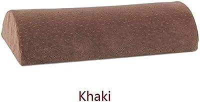 Amazon.com: Cojín cilíndrico largo de peluche con diseño de ...