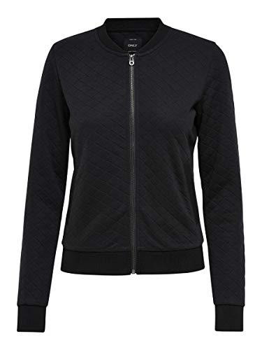ONLY Female Sweatshirt Bomber- XSBlack