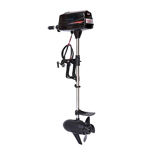 Review HANGKAI 8 HP Electric Outboard Motor Boat Engine 2200W Electric Start Marine Trolley Driver B...