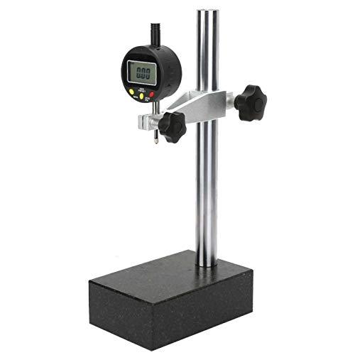 Misuratore di altimetro con base in marmo, misuratore di altezza digitale stabile durevole resistente agli acidi, pialle portatili per la lavorazione del legno