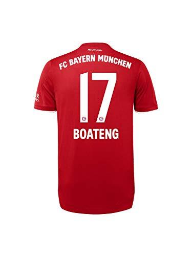 FC Bayern München Authentic Home-Trikot Saison 2020/21, Gr. L, JérômeBoateng