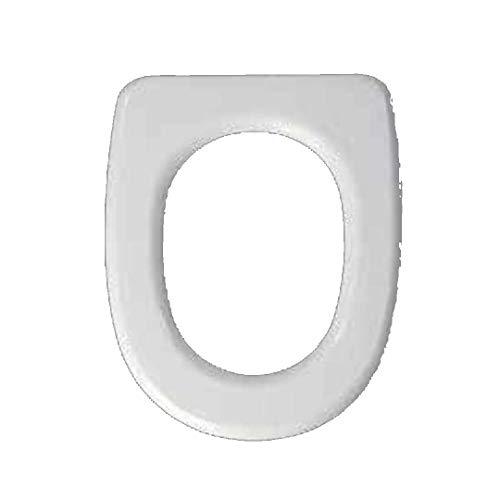 Copriwater dedicato per Serie Mistral EOS in Resina Poliestere colata Bianco Lucido - Coperchio Sedile tavoletta per WC - Massima qualita' Garantita