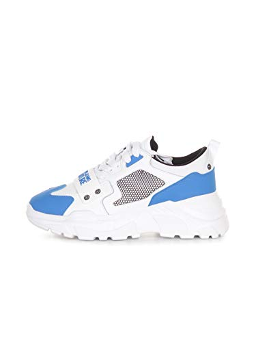 VERSACE JEANS COUTURE E0YWASC471604 899 - Zapatillas deportivas para hombre, color negro Size: 43 EU