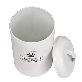 Pet Good Boîte de conservation de nourriture pour chien Capacité 1,8 kg Pelle incluse