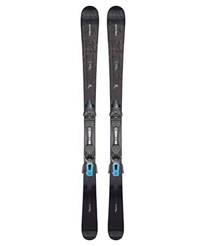 HEAD Damen Allmountain Ski Mya5 inkl. Bindung Joy 9 GW schwarz (200) 156