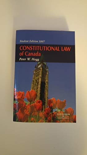 Constitutional Law of Canada 2007