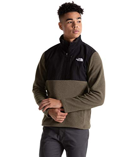 The North Face Men's Sun Rise Quarter Zip Sweatshirt, New Taupe Green Heather, Large