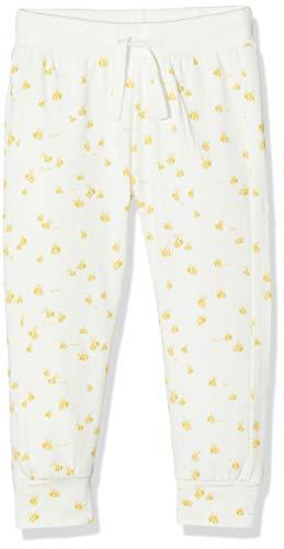 Imps & Elfs U Slim Fit Pants Darling AOP Pantalon, Écru (Marshmallow P157), 58 (Taille Fabricant: 56) Mixte bébé