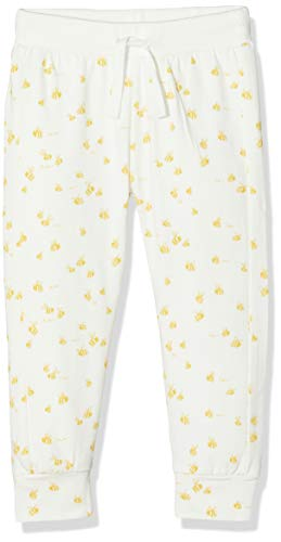 Imps & Elfs U Slim Fit Pants Darling AOP Pantalon, Écru (Marshmallow P157), 62 Mixte bébé