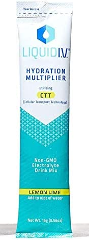 Liquid I.V. Hydration Multiplier Individual Stick Packs (4 Flavor Combo)