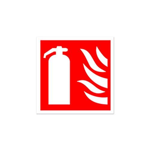 Tótem de Señalización Extintor para Armario Alto Doble DesignFeu