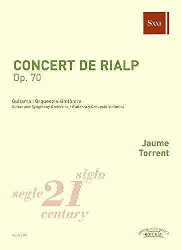 Concert de Rialp Op. 70: Guitarra i Orquesta simfónica