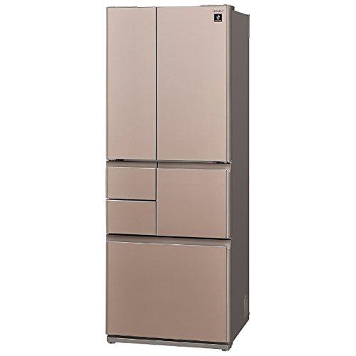 シャープ 501L 6ドア冷蔵庫(サテンブラウン)SHARP プラズマクラスター冷蔵庫 SJ-GT50B-T