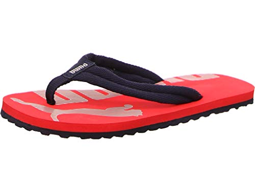 PUMA Epic Flip V2 JR, Zapatos de Playa y Piscina Unisex niños, Rojo (High Risk Red/Peacoat 24), 37 EU