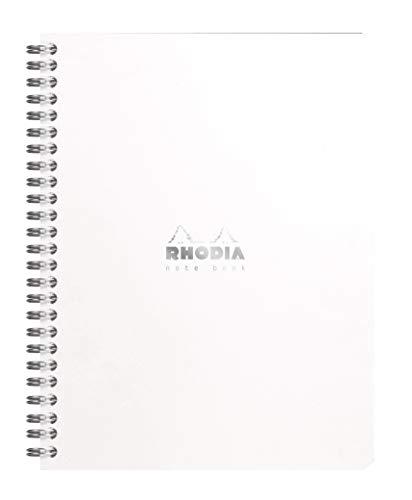 ロディア ダブルリングノート A5 クラシック 方眼罫 ホワイト cf193421