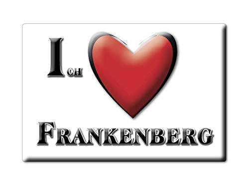 Enjoymagnets FRANKENBERG (by) Souvenir Deutschland Bayern Fridge Magnet KÜHLSCHRANK Magnet ICH Liebe I Love