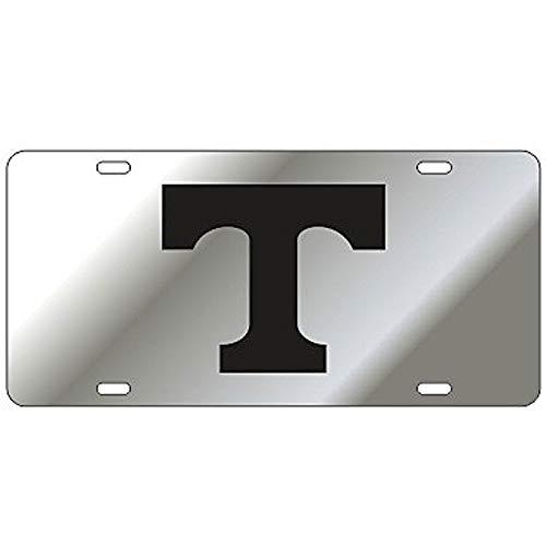 Craftique Tennessee Volunteers Mirror Laser Cut License Plate