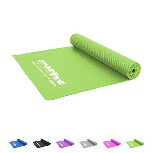 Sport-Tec Yogamatte inkl. Tragegurt, Gymnastikmatte, Fitnessmatte, Sportmatte, Turnmatte
