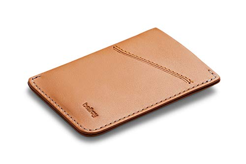 Bellroy Card Sleeve, schlanke Lederbörse (max. 8 Karten Plus Scheine) - Toffee