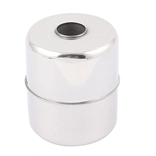 Aexit Stainless Steel Shaft Collars Water Level Sensor Floating Ball 61m_m x 51m_m Heat Shrinkable Shaft Collars x 15m_m