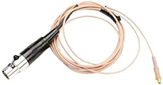 "Shure RPM657 Replacement 2mm (0.07"") Cable for Countryman WCE6T Microphone, TA4F Connector, Light Tan"