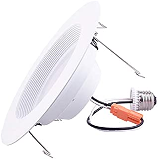 13W LED Recessed Lighting Kit - Simply Conserve | Retrofit Downlight Dimmable Light Bulb 13W (75W Equiv.) 4000K LED Warm White Piece | 12 Pack (L13DL5/6-40K)