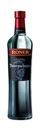 Roner Roner Bauernschnaps 47 (1X 0,7L) - Grappa Tradizionale Distilleria Artigianale Alto Adige Südtirol Piu Premiata D'Italia - 700 ml