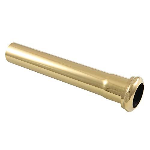 Kingston Brass EVP1002 Century 8-Inch X 1-1/4 Inch O.D Slip Joint Extension Tube, Polished Brass