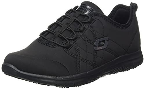 Skechers GHENTER SRELT, Zapatillas Mujer, Black, 39 EU