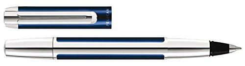 Pelikan 954941 Tintenroller Pura R40, blau-silber