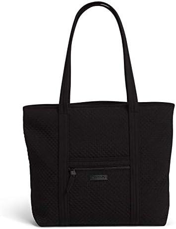 Vera Bradley Microfiber Vera Tote Bag True Black product image