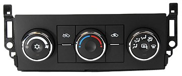 ACDelco 15-74002 GM Original Equipment Heating and Air Conditioning Control Panel with Heated Mirror Switch
