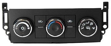 ACDelco 15-74002 GM Panel de control de calefacción y aire acondicionado con interruptor de espejo calefactor
