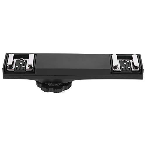 Bigking Hot Shoe Splitter, hochwertiger ultraleichter Dual Hot Shoe Splitter für SLR-Kamera-Camcorder(for Nikon)