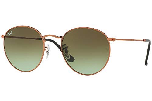 Ray-Ban RB 3447 Gafas de sol, Shiny Medium Bronze, 47 para Hombre