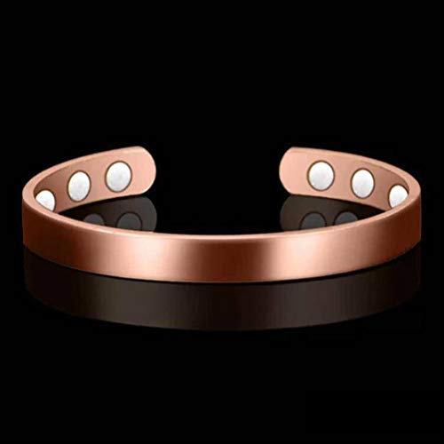 Nargut 2Pcs Magnetic Bracelets for Women Men,for Arthritis Magnetic with Therapy Pain Relief Magnets