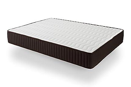 Dormio DE24090190I Esmeralda - Colchón ViscoSoft reversible, Blanco, 90 x 190 x 24 cm (Todas las medidas)