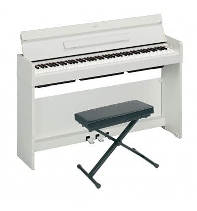Pack Yamaha Arius YDP-S34 Blanco - Piano digital + asiento