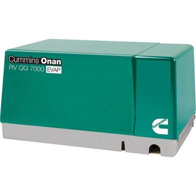 Cummins Onan Quiet Series Gasoline RV Generator - 7.0 kW, CARB and EPA Compliant, Model Number 7HGJAB-6756