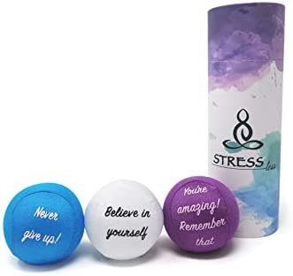 Hand Therapy Stress Balls Perfect for Anxiety Stress Relief and Hand Strengthening Purple product image