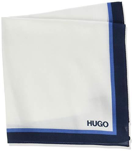 HUGO Mens Pocketsquare 33x33cm Handkerchief, Dark Blue (405), ONESI