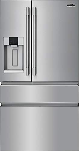Frigidaire Professional PRMC2285AF 36 Inch Counter Depth 4 Door French Door Refrigerator with 21.8 Cu. Ft. Capacity, Convertible Zone Drawer,