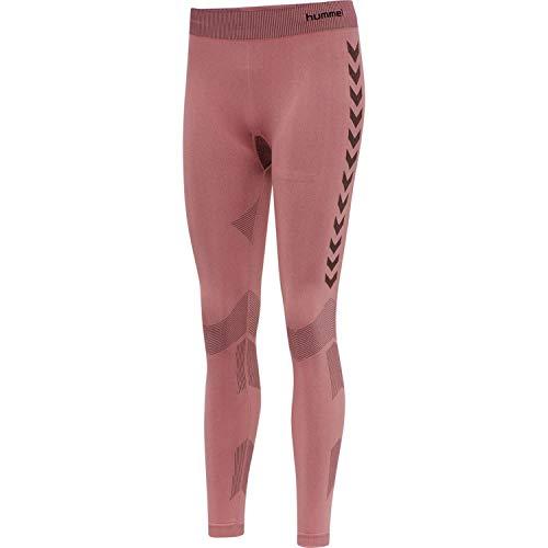 Hummel - Pantalones de fitness para mujer de hmlFIRST Seamless. Rosa pálido X-Small-Small