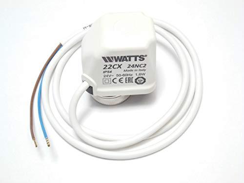 Watts Elektrothermischer Antrieb Stellantrieb 24V stromlos geschlossen 22CX24NC2