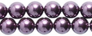 Swarovski 5810 Crystal Round Pearl Beads, 5mm, Burgundy, 50-Pack