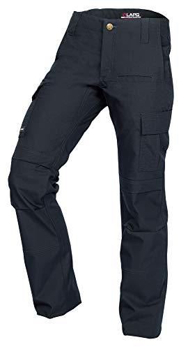 LA Police Gear Women's Mechanical Stretch Ops Tactical Cargo Pants - Navy-10-REGULAR