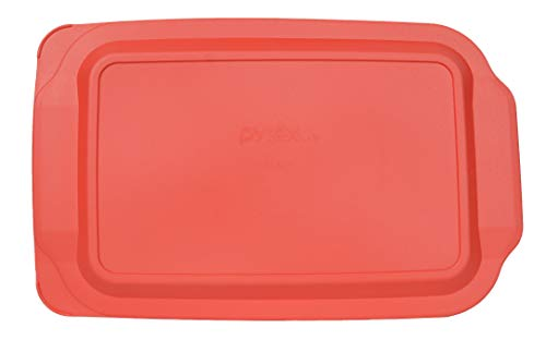 Pyrex 234-PC Red Plastic Lid for 4 Quart Oblong Baking Dish