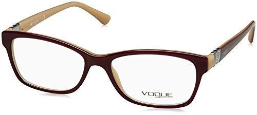 Vogue Damen 0Vo2765B Brillengestell, Mehrfarbig (Top Violet/Sand), 66