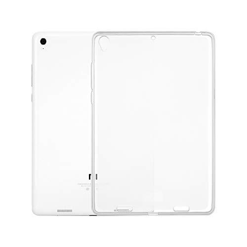 Funda Transparente para Tableta para Xiaomi Mi Pad 1 Tab Soft TPU Funda Transparente Funda Ultrafina Anti-arañazos Funda Trasera a Prueba de Golpes de TAOYUNXI (Xiaomi Mi Pad 1)